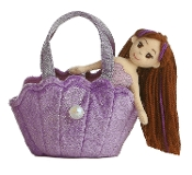 Aurora Fancy Pals Sea Sparkle Puprle Shell Carrier