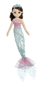 "Aurora 18"" Teal Sea Shelly Mermaid Plush"