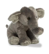 "Aurora 8"" Asian Elephant Plush"