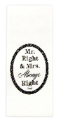 Mr. and Mrs. Dish Towel