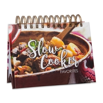 Brownlow Gifts Easel Recipe Book, Slow Cooker