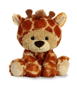 "Aurora 9"" Benny Bear Wanna Be Giraffe Plush"