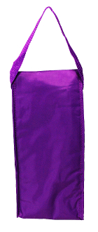 Lovable Lunch Bags Purple Flapover Lunch Tote