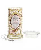 Giftcraft Spiced Orange Cinnamon Secret Jewels Christmas Candle