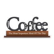 Coffee Novelty Sign, The Most Important Meal of The Day