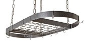Rogar Large Oval Pot Racks