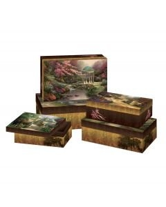 Thomas Kinkade Decorative Boxes Set