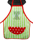 Wild Hare Design Apron - Dear Santa, Everything I Want is...