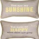 You Are My Sunshine, Throw Pillow