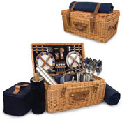 Windsor wicker deluxe picnic basket